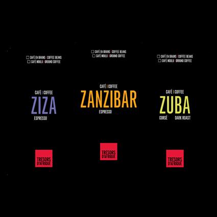 Trio Grand Cru - Cafés Trésors d'Afrique