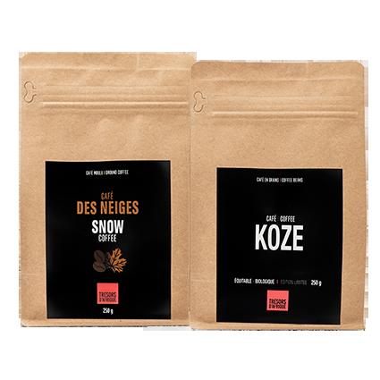Duo Café Des Neiges et Café Koze