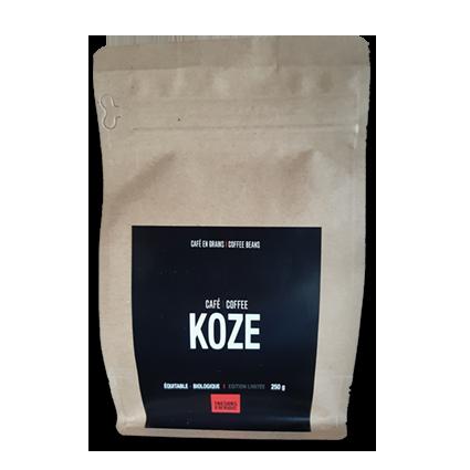 Café KOZE - Trésors d'Afrique